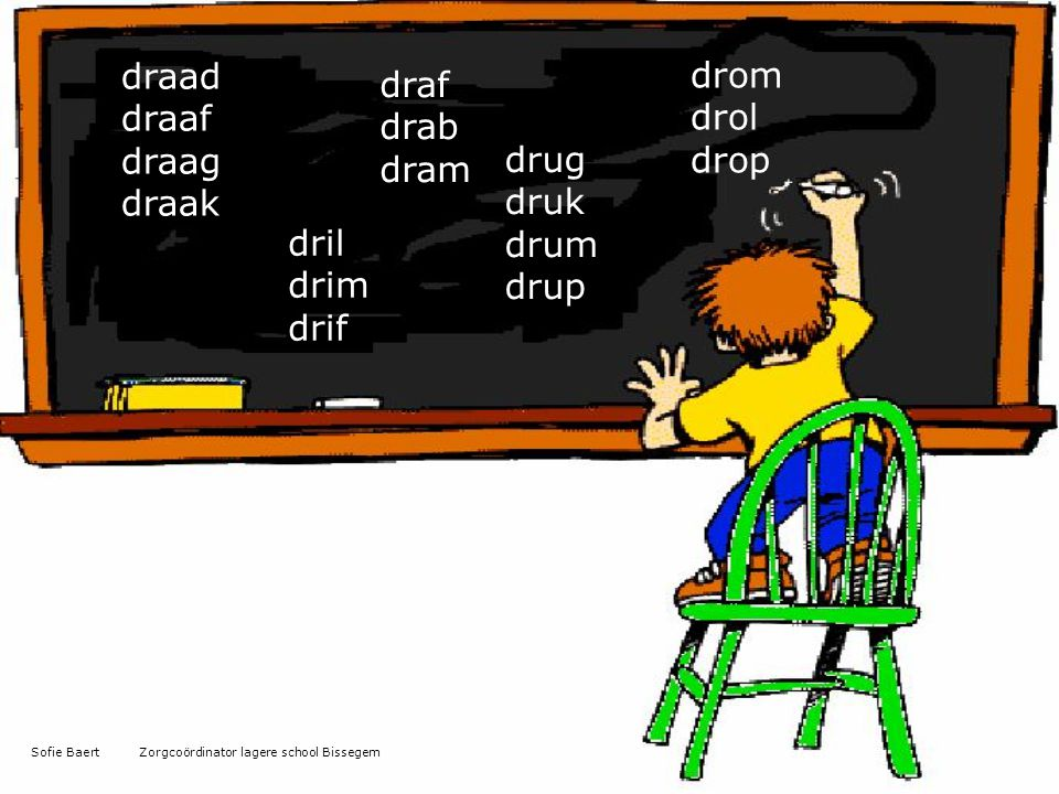 draad drom draf draaf drol drab draag drop dram draak drug druk drum