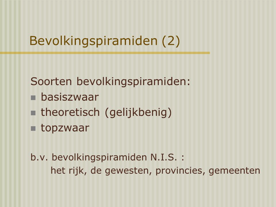 Bevolkingspiramiden (2)