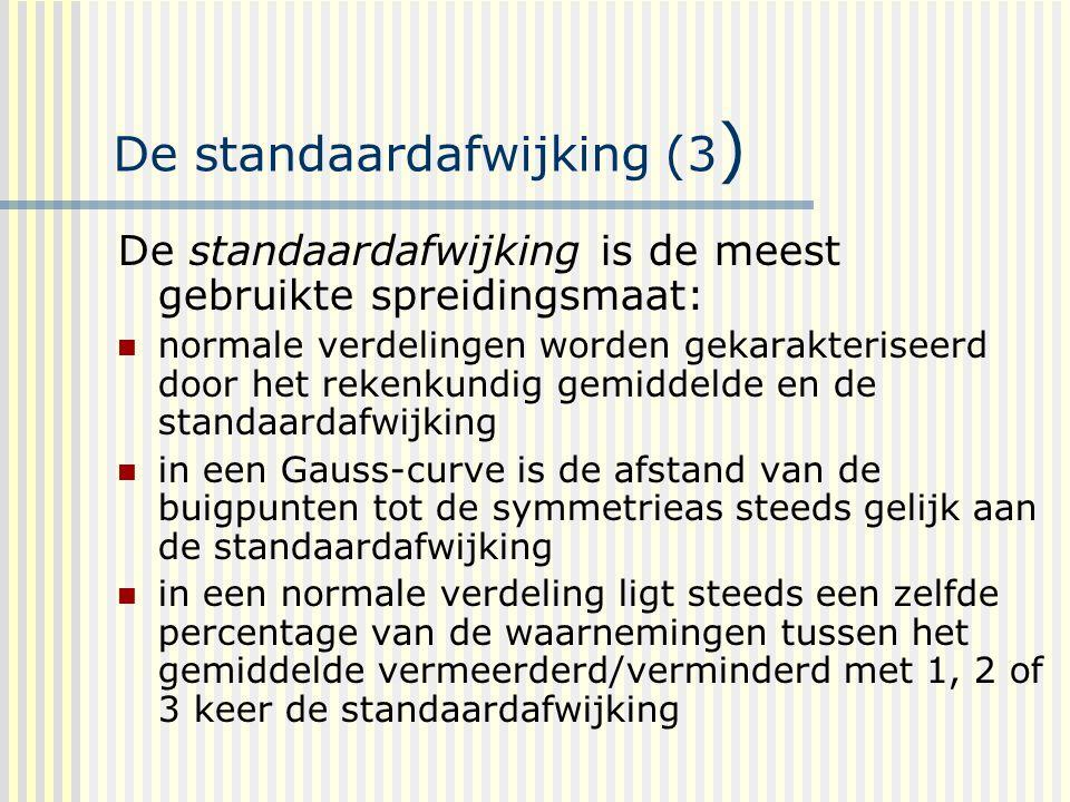 De standaardafwijking (3)