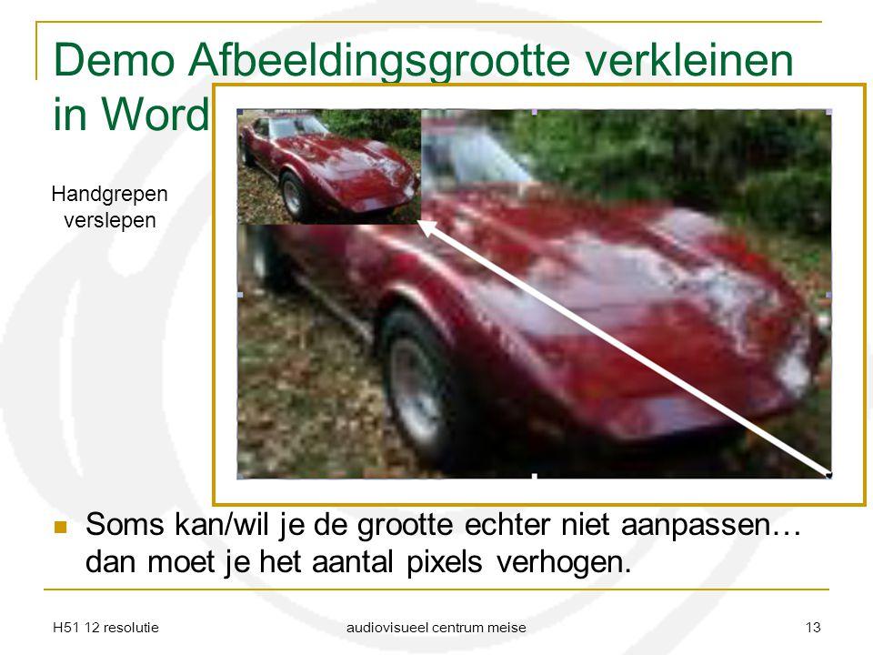 Demo Afbeeldingsgrootte verkleinen in Word