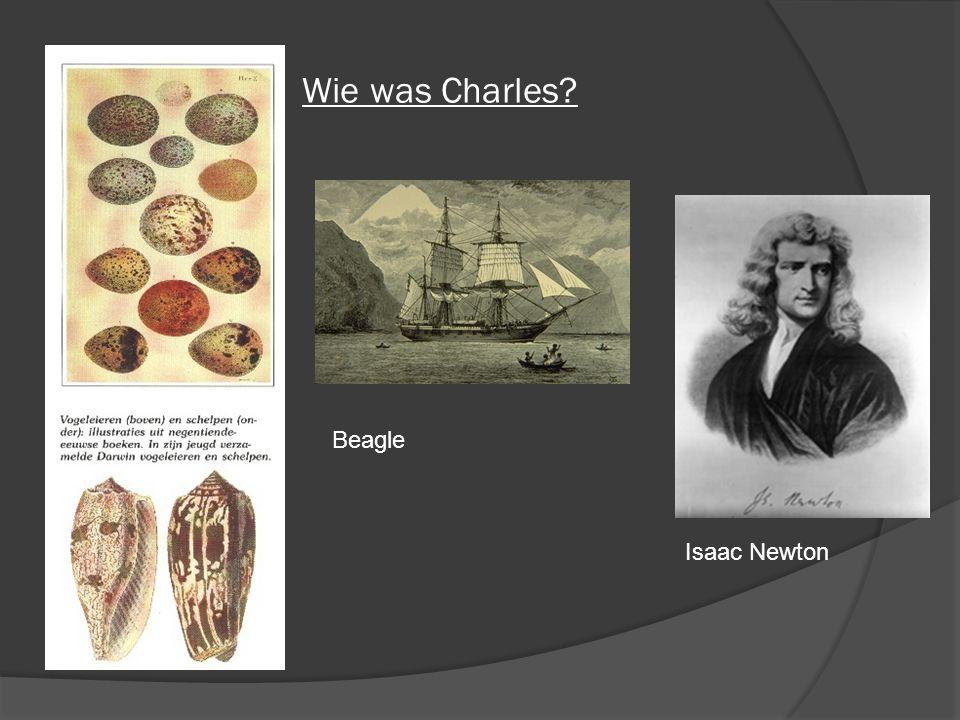 Wie was Charles Beagle Isaac Newton