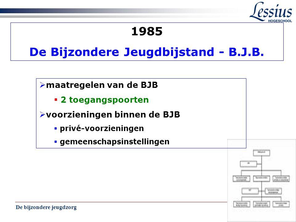 De Bijzondere Jeugdbijstand - B.J.B.