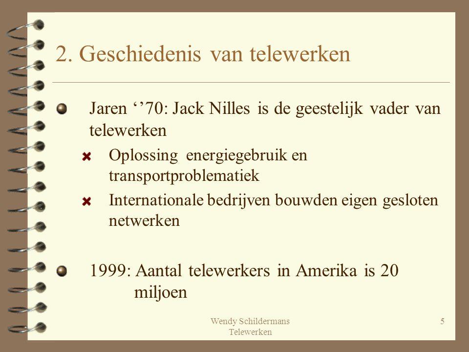 2. Geschiedenis van telewerken