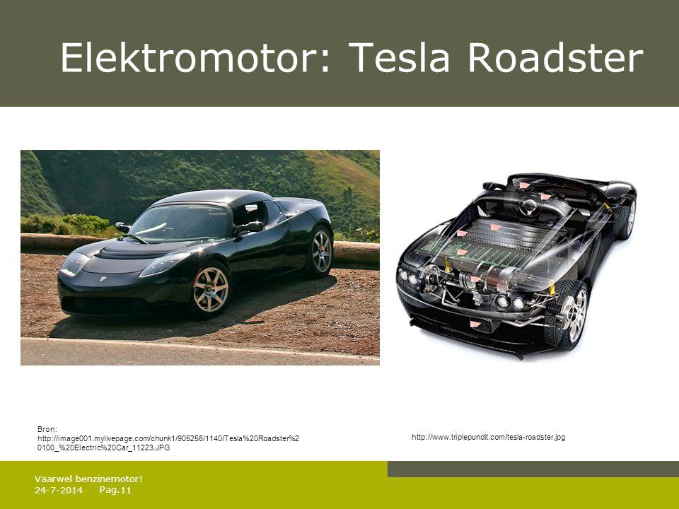 Elektromotor: Tesla Roadster