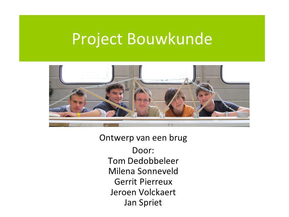 Project Bouwkunde Ontwerp van een brug