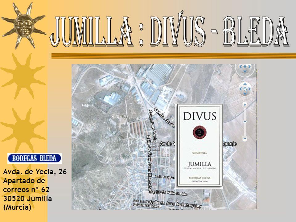 Jumilla : Divus - Bleda Avda.