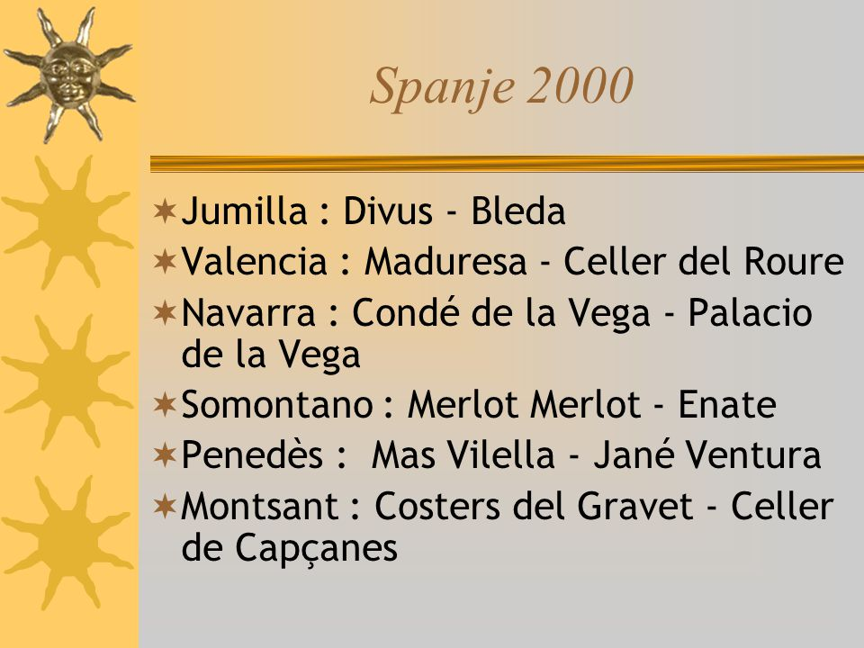 Spanje 2000 Jumilla : Divus - Bleda