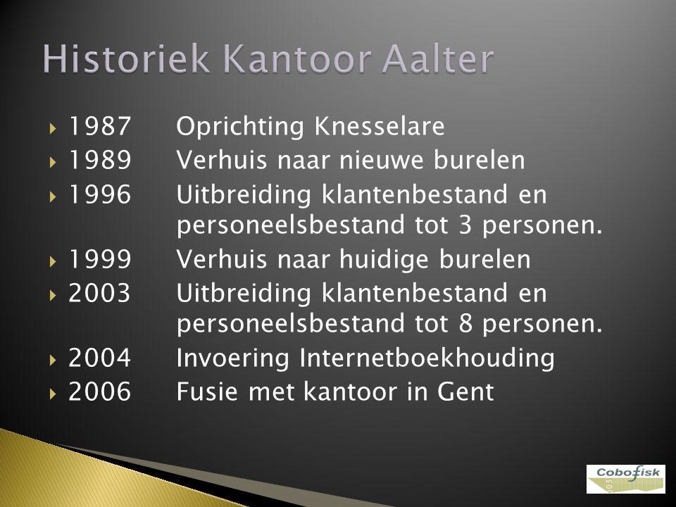 Historiek Kantoor Aalter