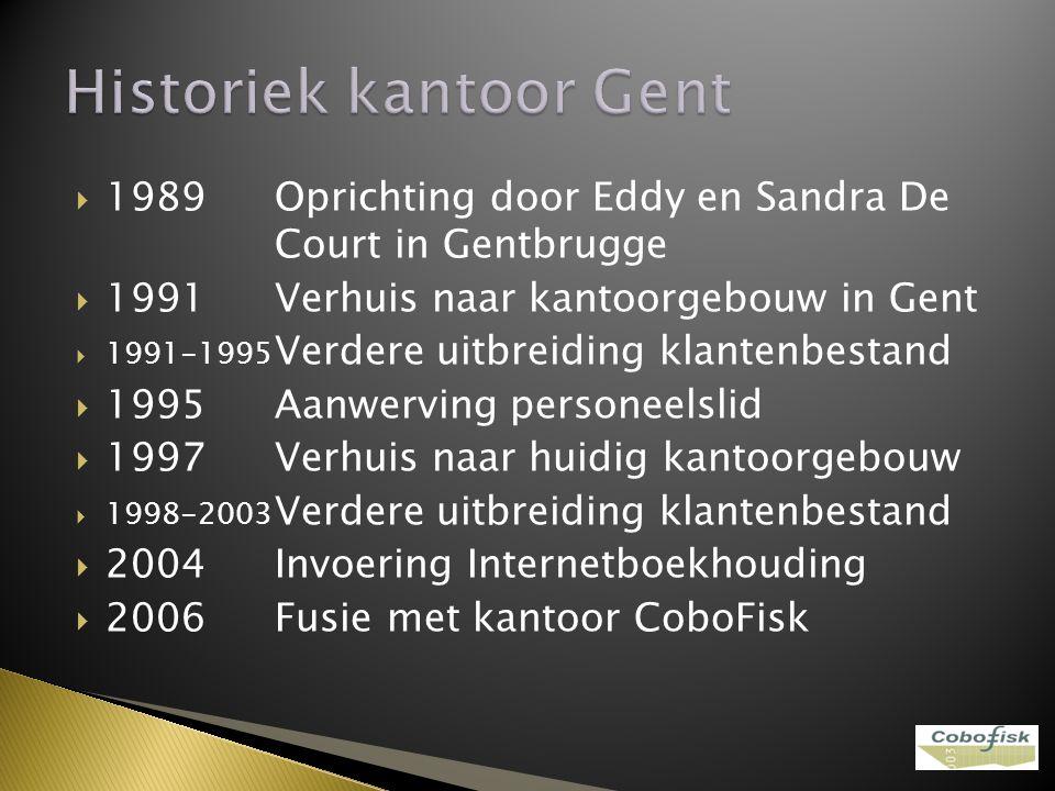 Historiek kantoor Gent