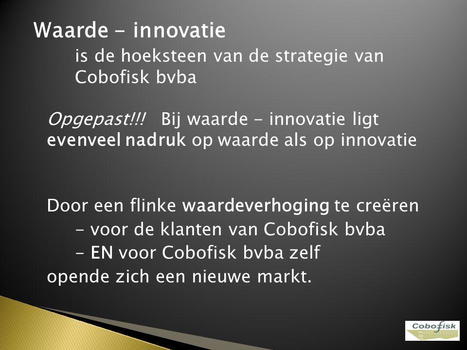 Waarde - innovatie