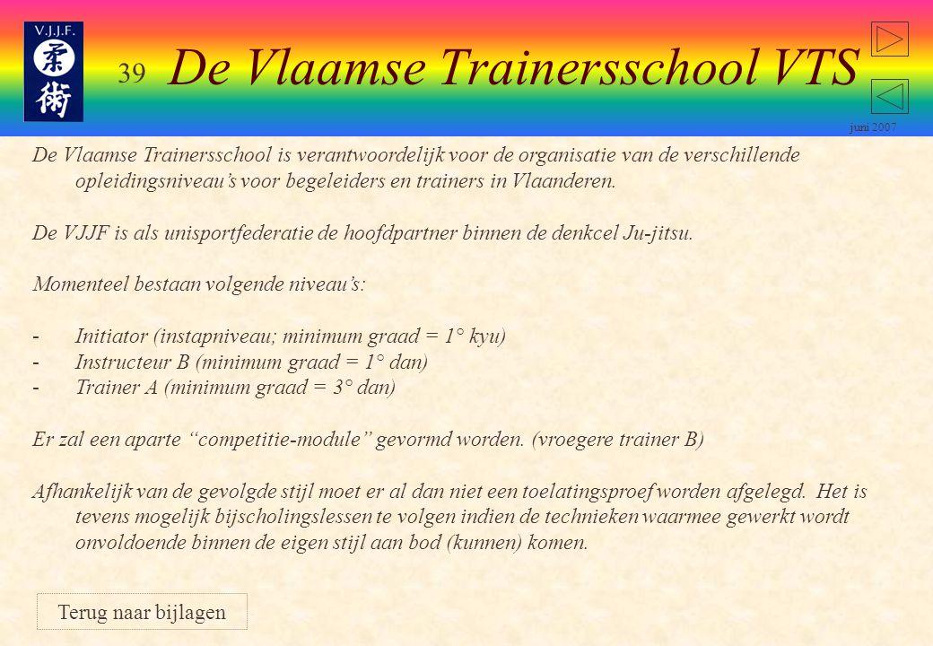 De Vlaamse Trainersschool VTS