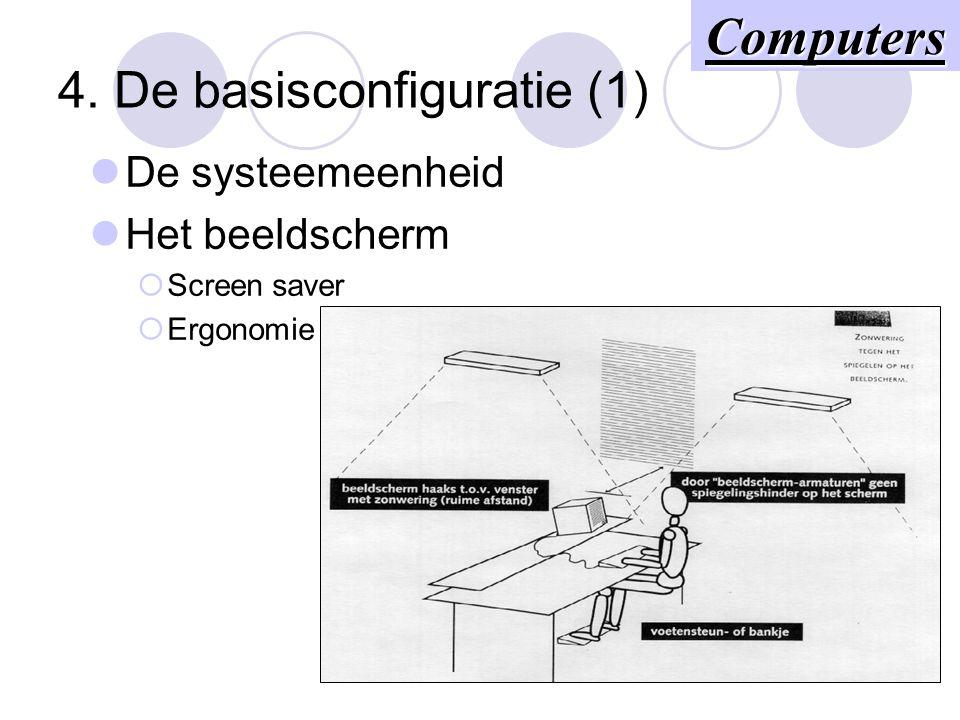 4. De basisconfiguratie (1)
