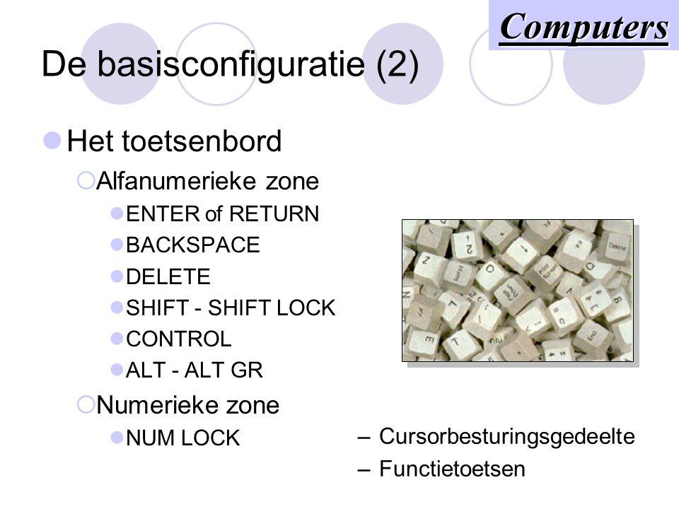 De basisconfiguratie (2)