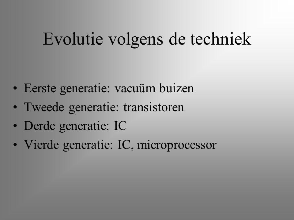 Evolutie volgens de techniek