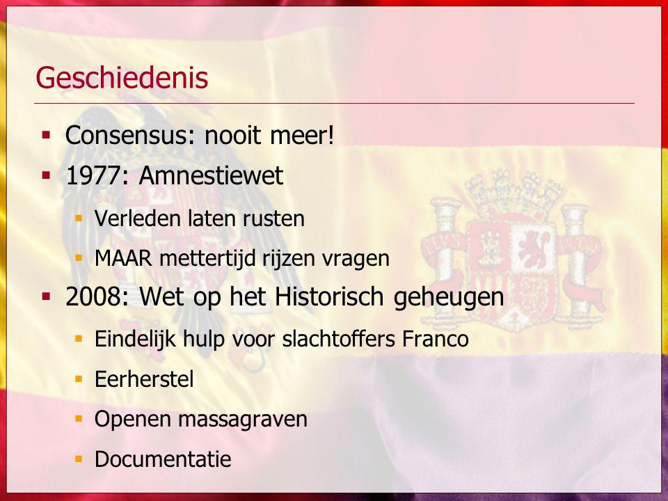 Geschiedenis Consensus: nooit meer! 1977: Amnestiewet