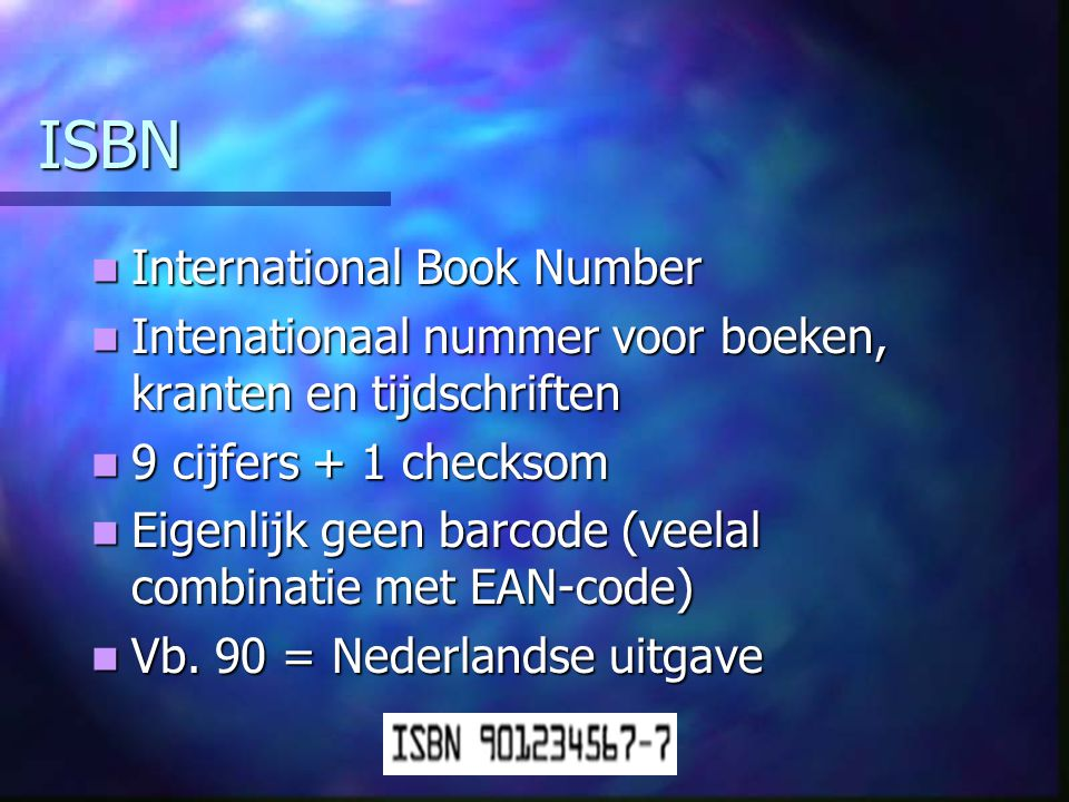 ISBN International Book Number