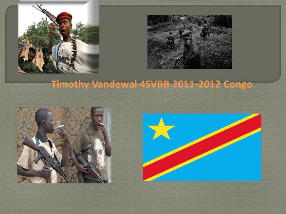 Timothy Vandewal 4SVBB 2011-2012 Congo