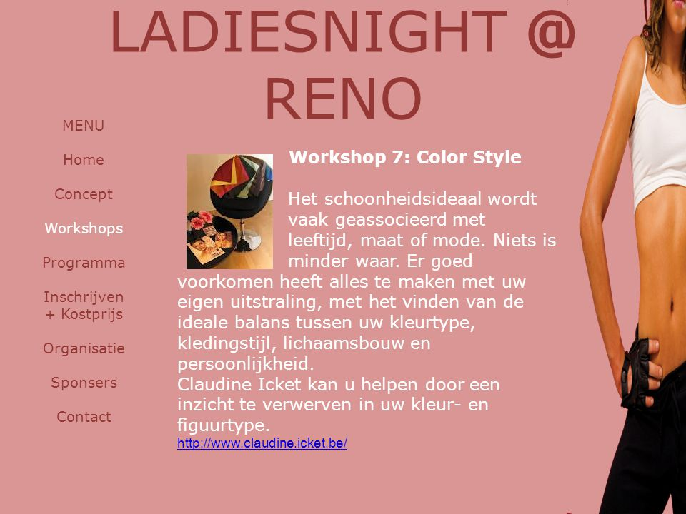 LADIESNIGHT @ RENO Workshop 7: Color Style