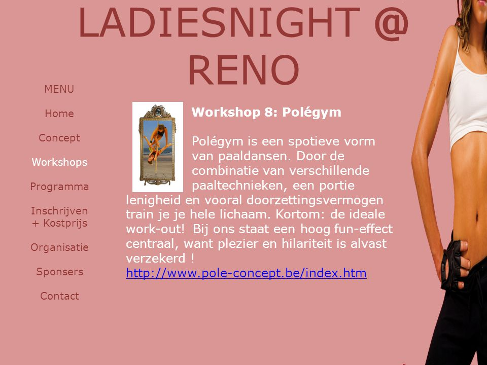 LADIESNIGHT @ RENO Workshop 8: Polégym