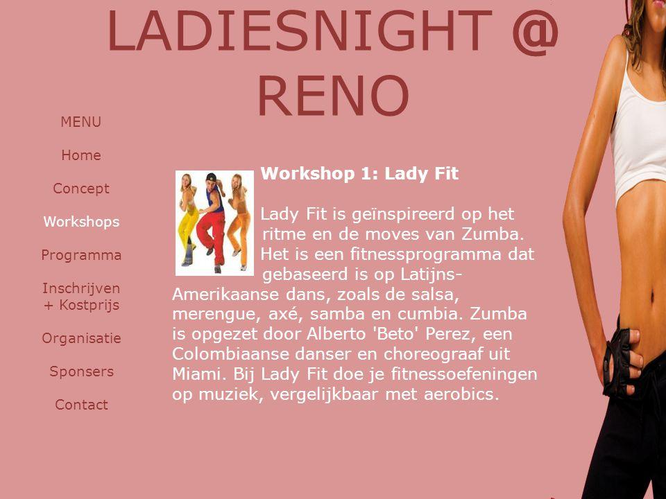 LADIESNIGHT @ RENO Workshop 1: Lady Fit