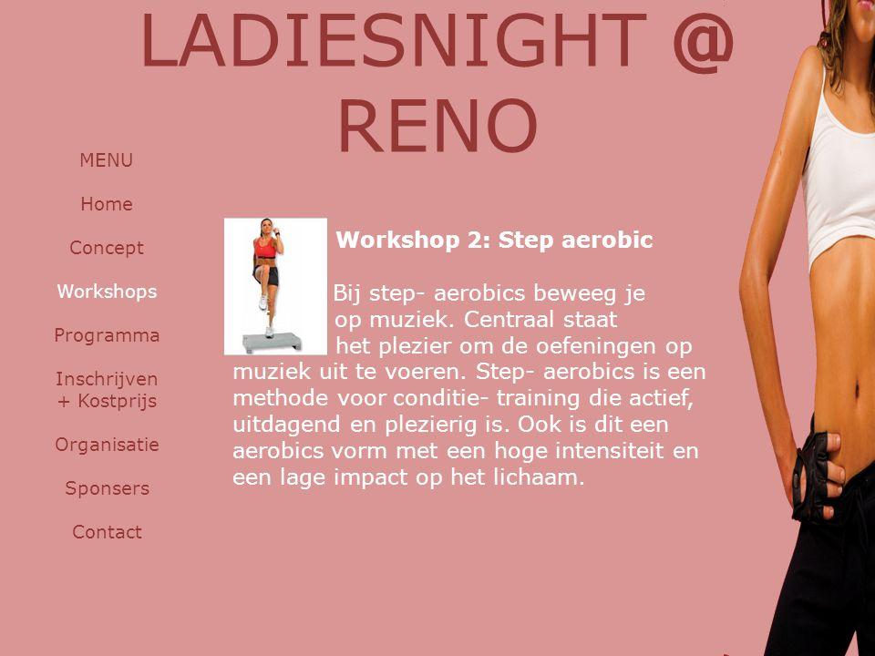 LADIESNIGHT @ RENO Workshop 2: Step aerobic