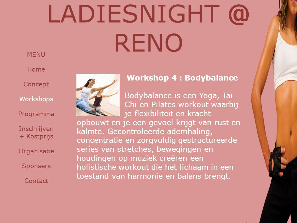 LADIESNIGHT @ RENO Workshop 4 : Bodybalance