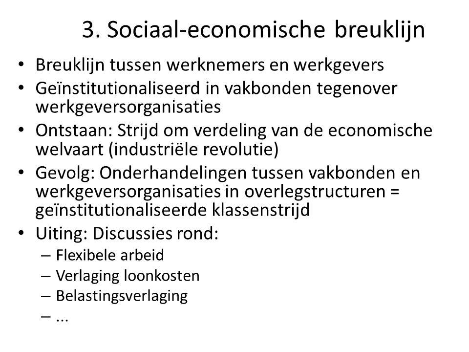 3. Sociaal-economische breuklijn