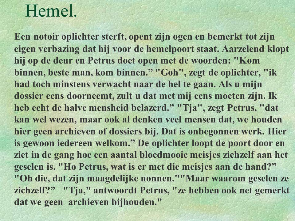 Hemel.