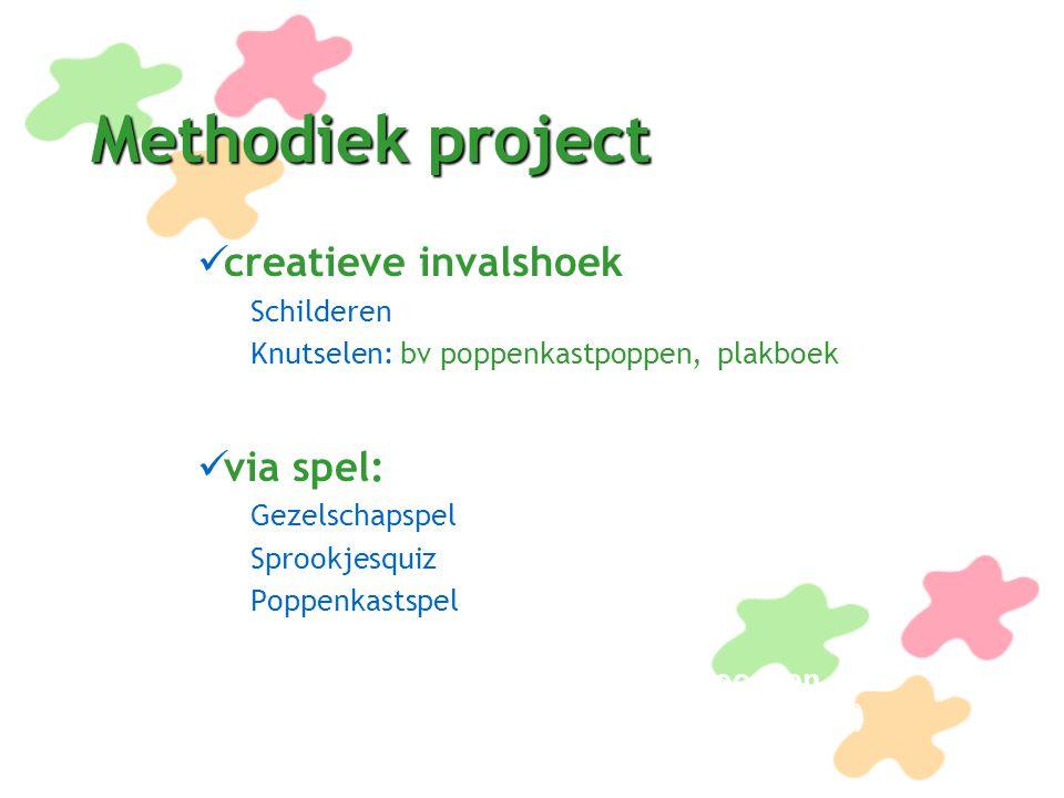Methodiek project creatieve invalshoek via spel: Schilderen