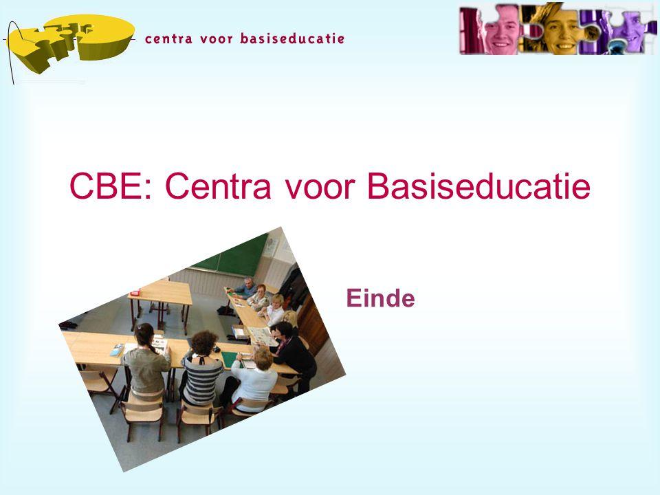 CBE: Centra voor Basiseducatie