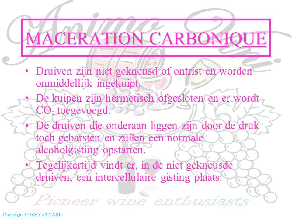 MACERATION CARBONIQUE