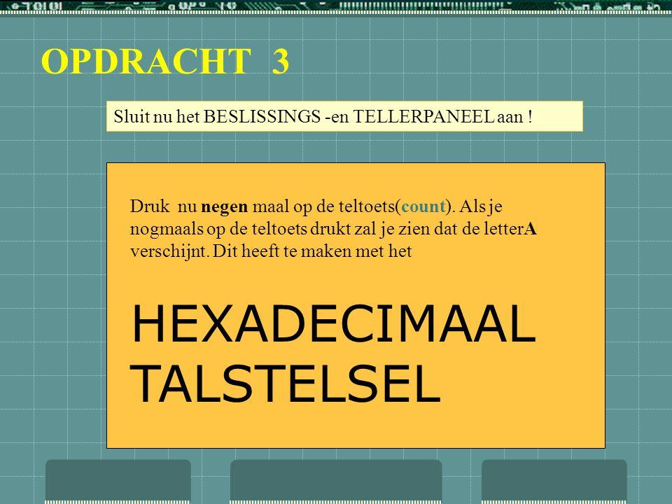 HEXADECIMAAL TALSTELSEL