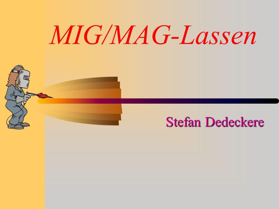 MIG/MAG-Lassen Stefan Dedeckere