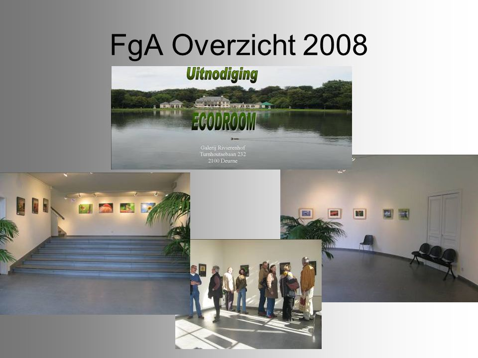 FgA Overzicht 2008