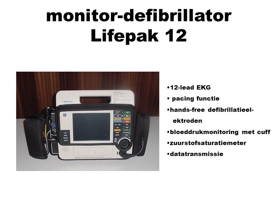 monitor-defibrillator Lifepak 12