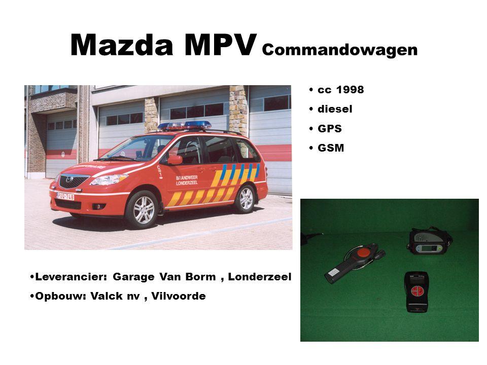 Mazda MPV Commandowagen