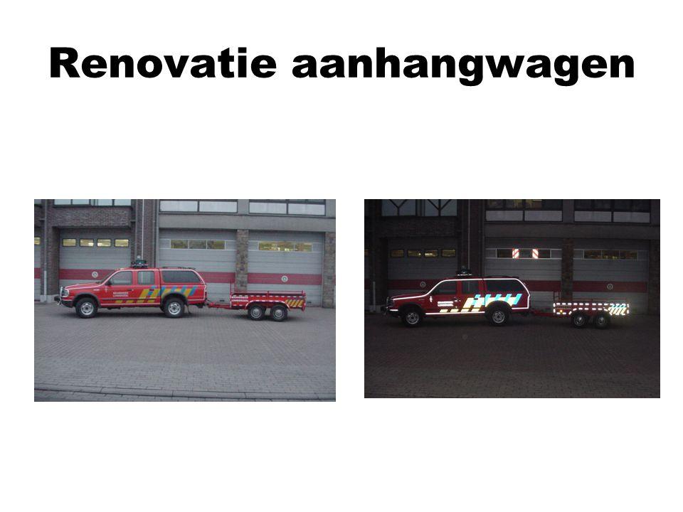 Renovatie aanhangwagen