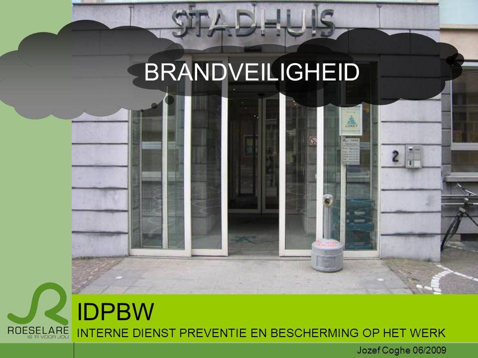 BRANDVEILIGHEID IDPBW