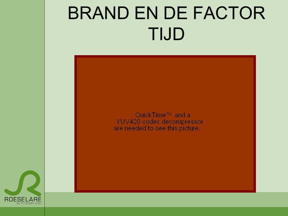 BRAND EN DE FACTOR TIJD