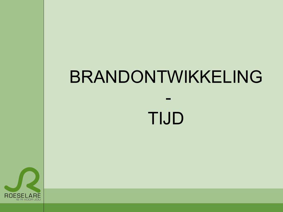 BRANDONTWIKKELING - TIJD