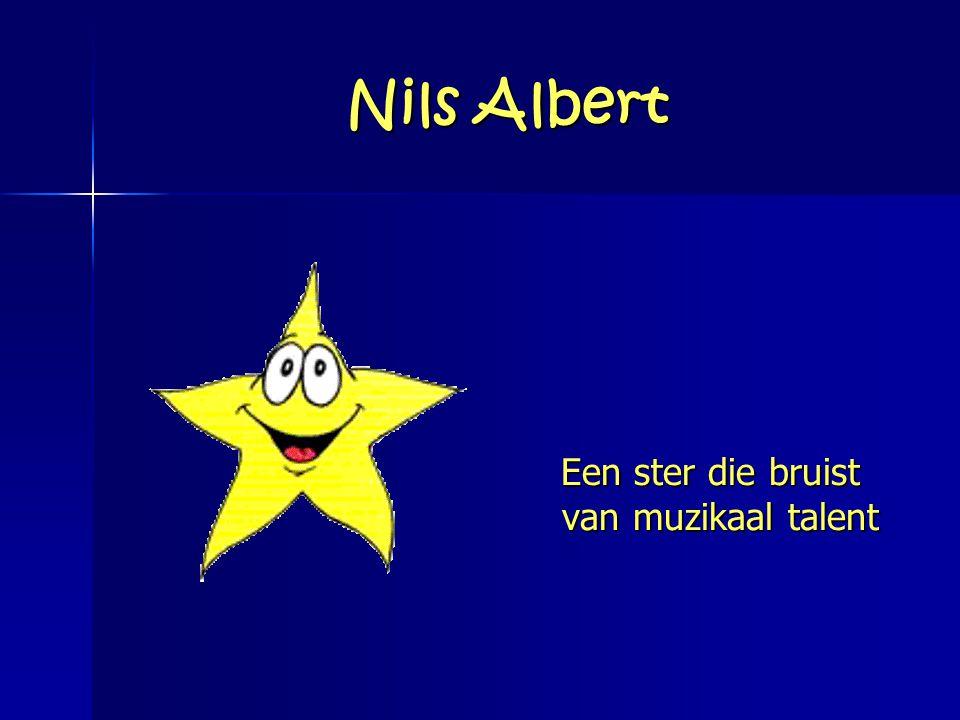 Nils Albert Een ster die bruist van muzikaal talent