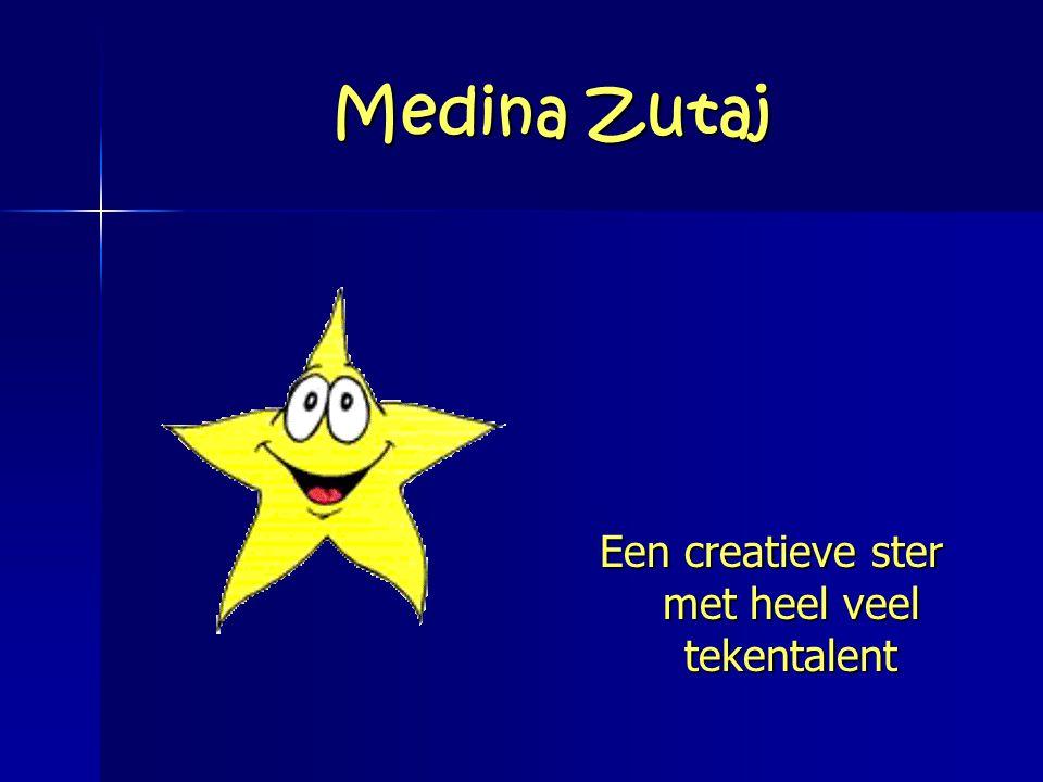 Een creatieve ster met heel veel tekentalent