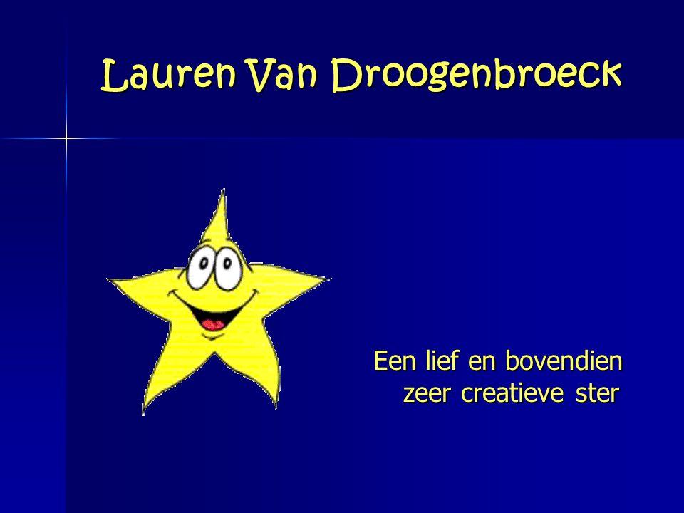 Lauren Van Droogenbroeck