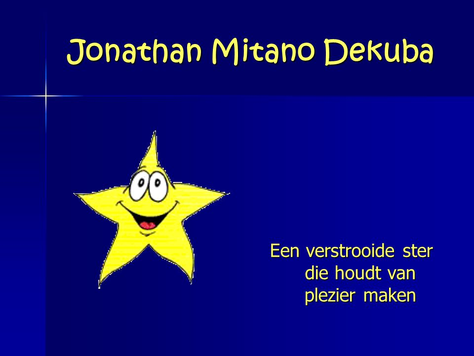 Jonathan Mitano Dekuba