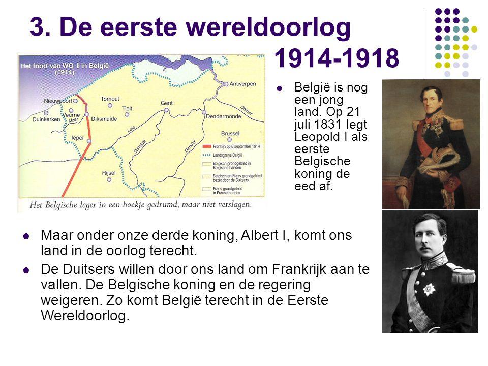 3. De eerste wereldoorlog 1914-1918
