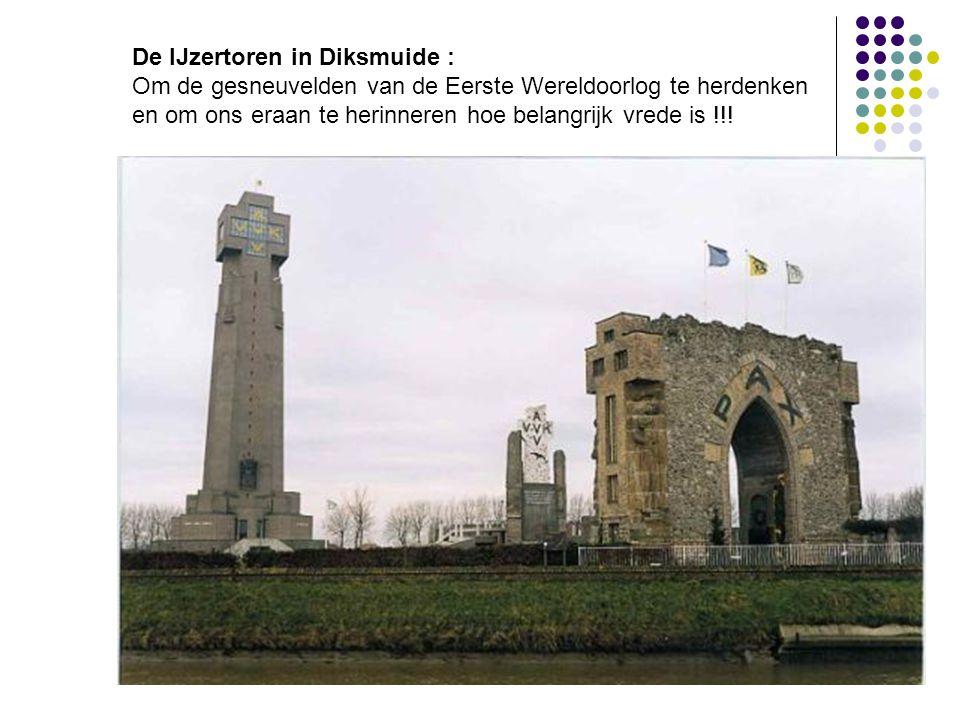 De IJzertoren in Diksmuide :