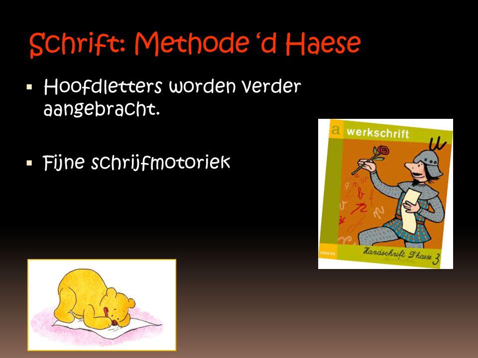 Schrift: Methode 'd Haese