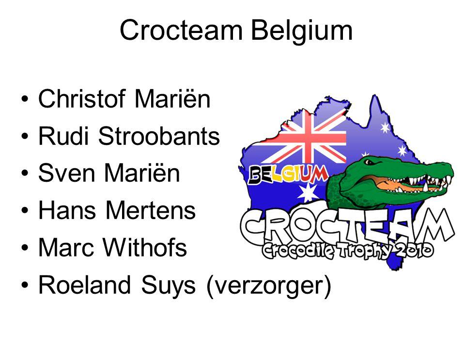 Crocteam Belgium Christof Mariën Rudi Stroobants Sven Mariën