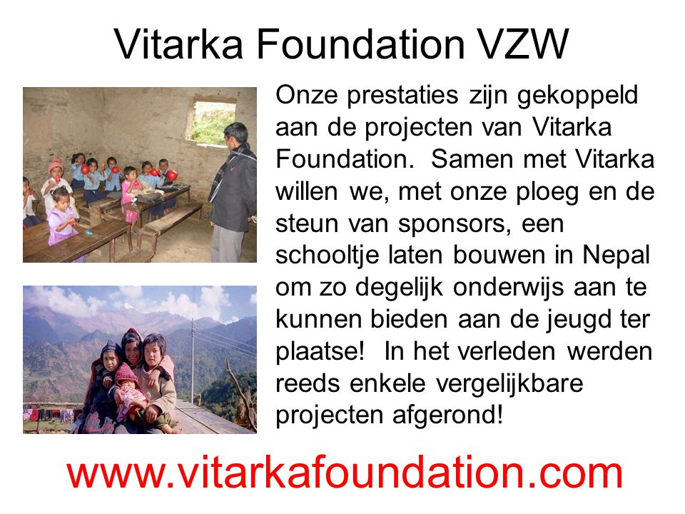Vitarka Foundation VZW