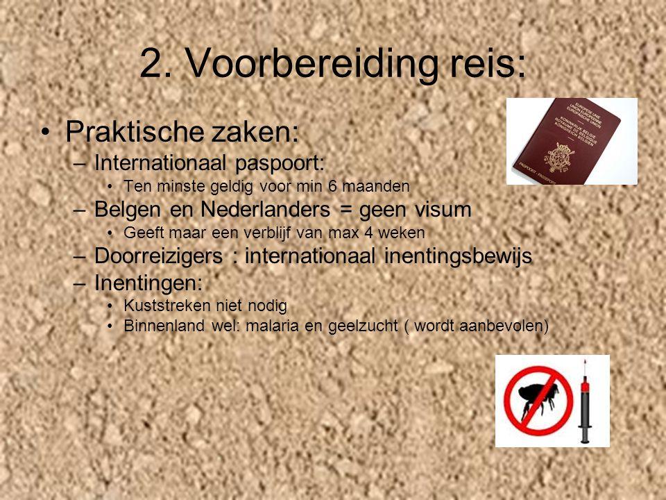 2. Voorbereiding reis: Praktische zaken: Internationaal paspoort: